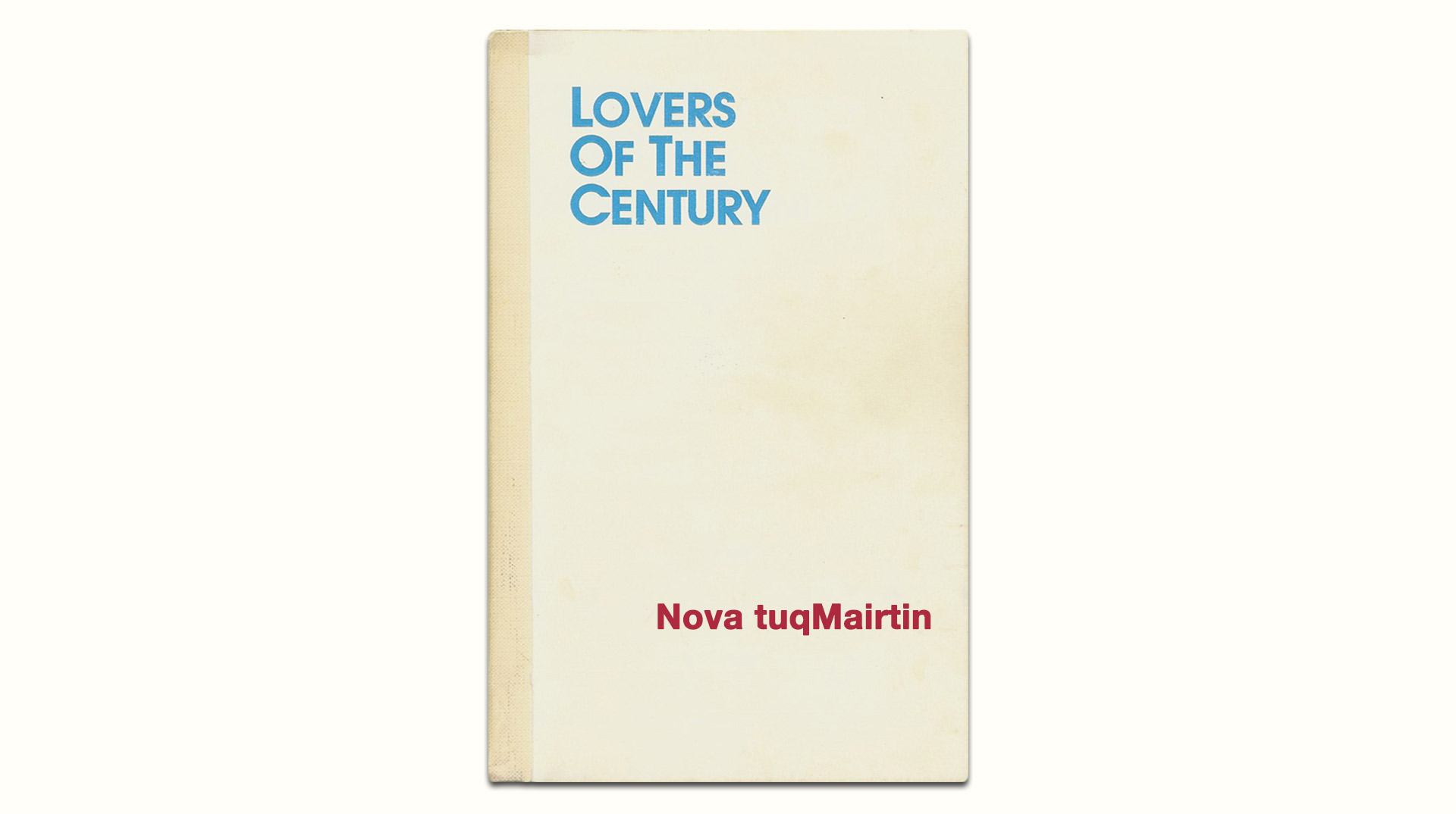 Lovers Of The Century original book